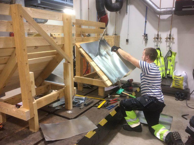 Kaldkatuseehitaja eriala Haapsalu Kutsehariduskeskuses